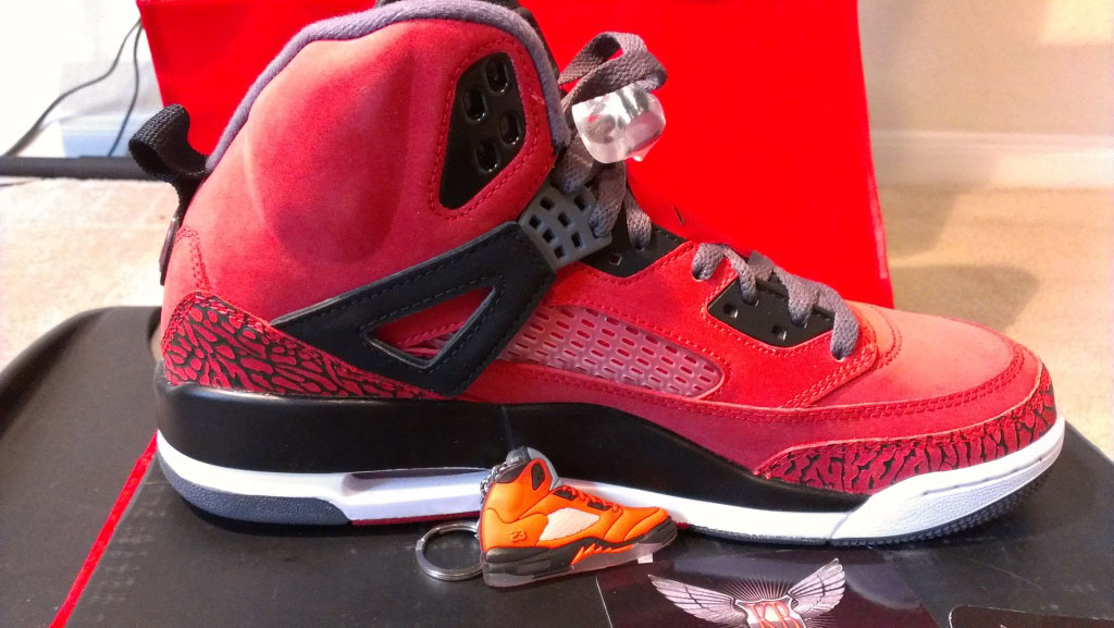 "huge selection of 52c9a c81d1 Air Jordan Spizike ""Gym Red""   LimeLightzWORLD"